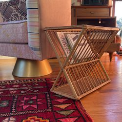 Rattan Magazine Rack Holder for Sale in Ramona,  CA