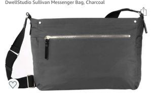 Dwell studio Sullivan diaper messenger bag - Charcoal for Sale in Daly City, CA