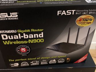 Asus Dual-band RT-N66U Gigabit Router N900 for Sale in Seattle,  WA