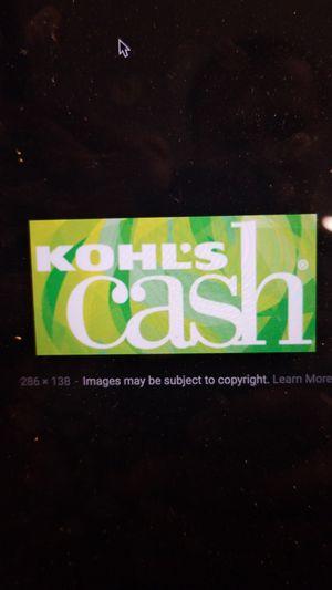 Kohls cash upto $90 expiring on Dec 19th 2018 for Sale in Moseley, VA