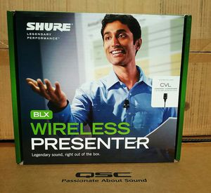 Shure Wireless Microphone Combo BLX CVL Professional Karaoke Vocal Presenter Series 🚨 90 Day Payment Options Available for Sale in Santa Monica, CA