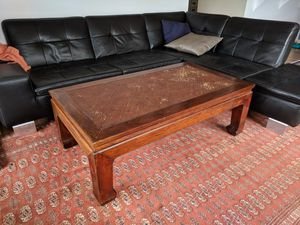 Imported antique asian coffee table for Sale in Seattle, WA