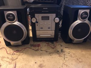 Phillips stereo system for Sale in Fresno, CA