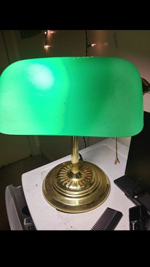 Vintage Bankers Lamp for Sale in Ringgold, GA