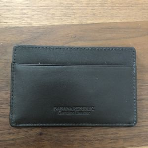 New Banana Republic Brown Leather Credit Card Holder for Sale in Boca Raton, FL