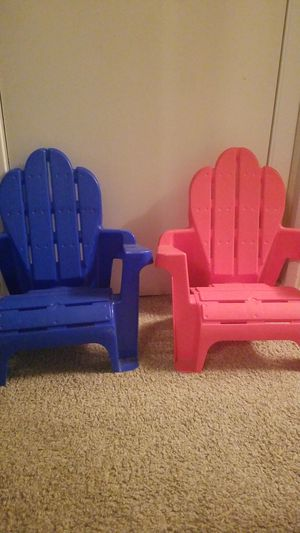 Little outdoor kid chairs for Sale in Austin, TX
