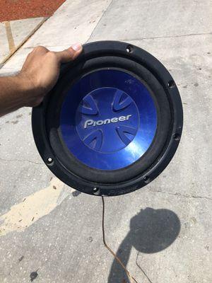 12 inch speaker pioneer for Sale in St. Petersburg, FL