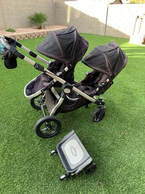 City select double stroller - Glider board SOLD for Sale in Tempe, AZ