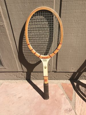 Tennis Racket wooden The Jack Kramer Autograph classic wood racquet for Sale in Moraga, CA