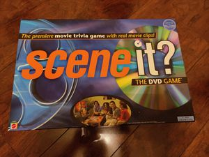 Trivia Game - Scene It? The DVD Game - Family for Sale in Wimauma, FL
