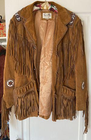 Vintage Scully fringe suede leather coat for Sale in Denver, CO
