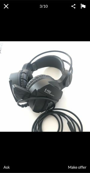 New Gaming headset ps4 pc xbox for Sale in Los Angeles, CA