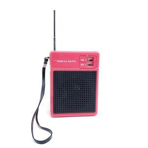 Pink Vintage Realistic AM/FM Portable Transistor Radio 23-464 RadioShack, Works!! for Sale in Seattle, WA
