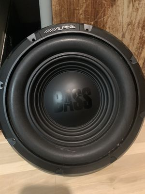 Alpine W10S4 10-Inches 4-Ohm Car Audio Subwoofer Sub for Sale in San Diego, CA