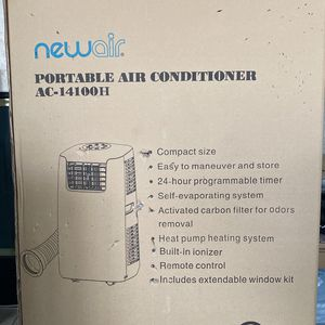 NewAir Portable Air Conditioner AC-14100H New Air for Sale in Sylmar, CA