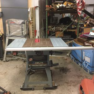 """10"""" Delta Table Saw – Contractors Saw Series 2000 for Sale in Vancleave, MS"""