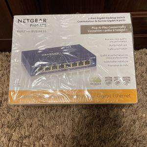 Netgear ProSAFE 8-Port Gigabit Switch for Sale in Manteca, CA