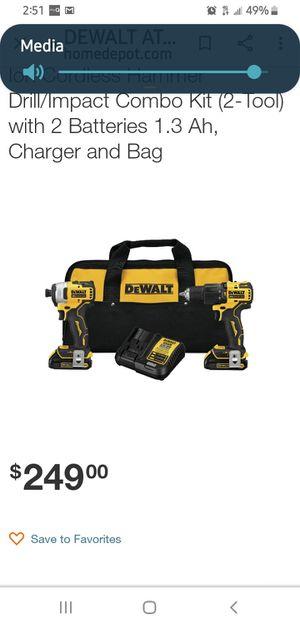 DeWalt 20 volt hammer drill for Sale in Palm Beach Gardens, FL