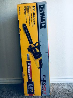 """Dewalt. Chainsaw 16"""" TOOL ONLY for Sale in Fullerton, CA"""