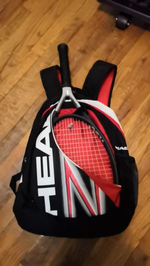 Head Tennis Racket and Backpack - Ti S6 for Sale in Rockville, MD