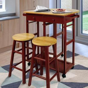 Stylish And Sophisticated 3 Piece Kitchen Island Set for Sale in Los Angeles, CA