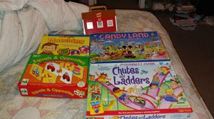 Kids games, 4 for $20 for Sale in Raleigh, NC