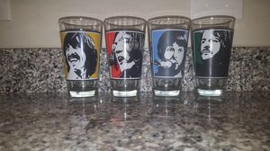 Beatles Collectible Drinking Glasses for Sale in Charlotte, NC