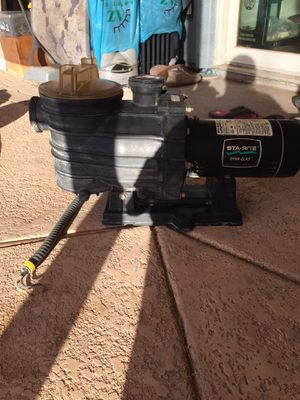 Sta-rite Dyna-glas Pool Pump for Sale in Tempe, AZ