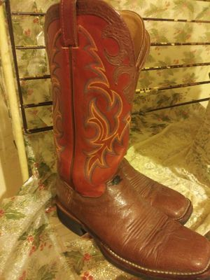 Men's Justin boots for Sale in Fort Worth, TX