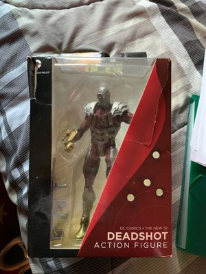 Dead shot action figure collectible box opened for Sale in Campbell, CA