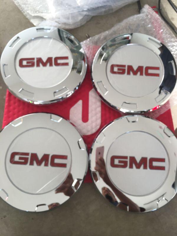 GMC Center caps for Escalade rims