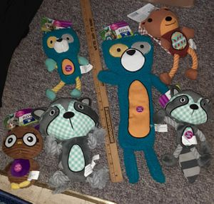 $55 - 6pc PETCO DOG TOY LOT new for Sale in Manchester, NH