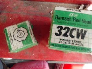 Ramset 32cw nail gun cartridges for Sale in Nashville, TN