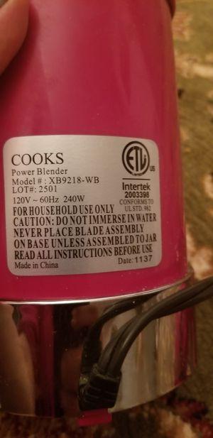 Cooks. Power blender for Sale in Springfield, VA