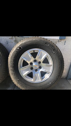 2015 chevy silverado rims for Sale in Long Beach, CA