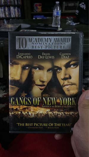 Gangs of New York dvd for Sale in Paramount, CA