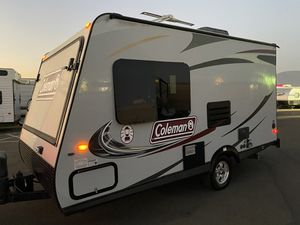 2014 ColeMan Explorer 15FT 2 bed tip outs and A/c Easy to tow for Sale in Rancho Cucamonga, CA