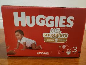 UNOPENED box HUGGIES size 3 for Sale in Hallandale Beach, FL