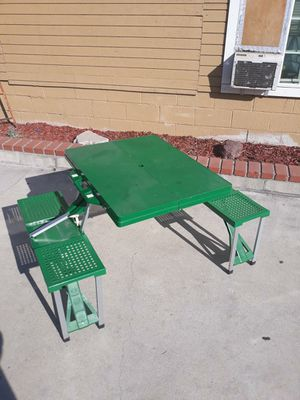 Picnic folding table for Sale in Irwindale, CA