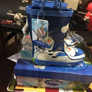 Frozen rain boot for kids size 12 $25 obo for Sale in Tampa, FL