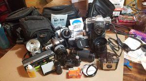 Vintage cameras for Sale in San Antonio, TX