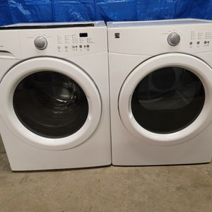Kenmore Washer And Electric Dryer Set Good Working Condition Set For $349 for Sale in Wheat Ridge, CO