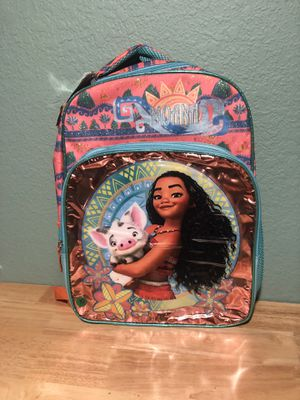 Disney Moana backpack new for Sale in Dallas, TX