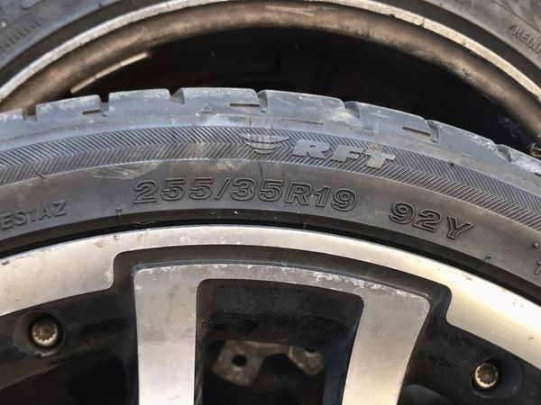 Mercedes wheels size 19