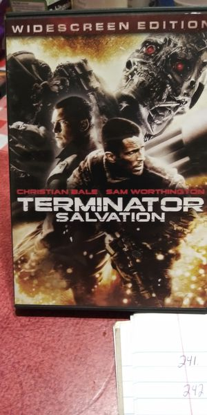 Terminator Salvation dvd for Sale in Brainerd, MN