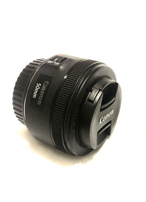 CANON 50MM F/1.8 STM EF-MOUNT LENS {49} for Sale in Los Angeles, CA