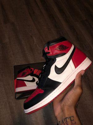 "Jordan 1 ""Bred Toe"" for Sale in Tallahassee, FL"