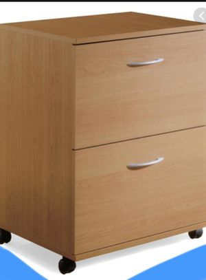New!! File cabinet, rolling vertical 2 drawers cabinet, bussiness equipment, office furniture for Sale in Phoenix, AZ