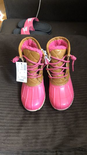 Girls boots by Justice size 12 for Sale in Dearborn, MI