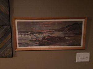 1959 Sunset Short by Robert Wood Lithograph for Sale in Trumann, AR